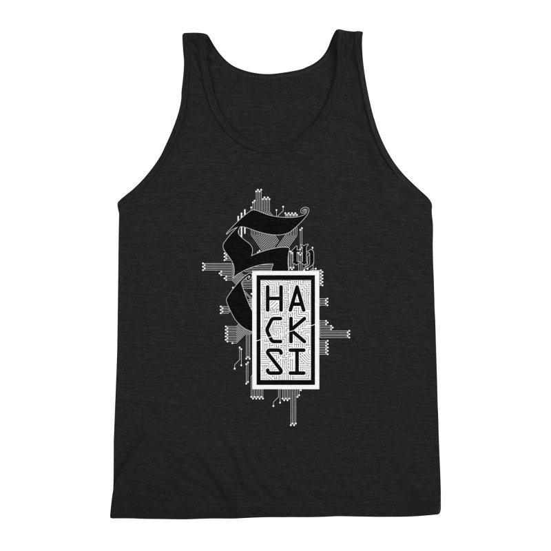 Light 2017 Logo Men's Tank by The HackSI Shop