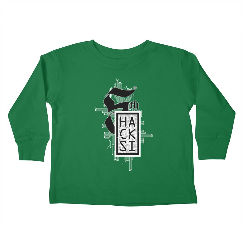 Light 2017 Logo Kids Toddler Longsleeve T-Shirt by The HackSI Shop