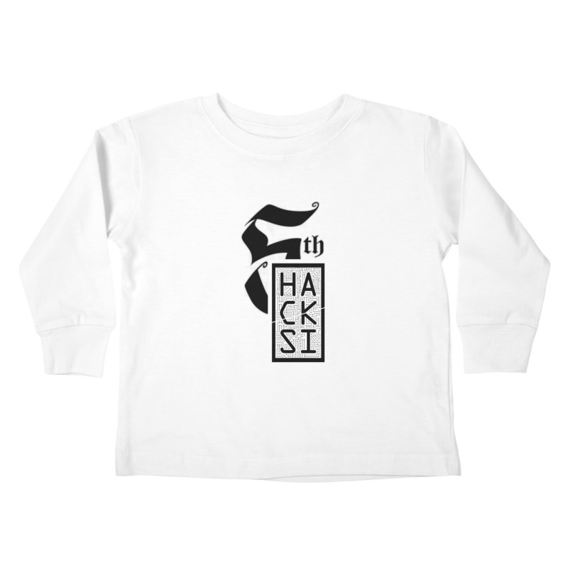 Light 2017 Logo Kids Toddler Longsleeve T-Shirt by The HackSI Shop