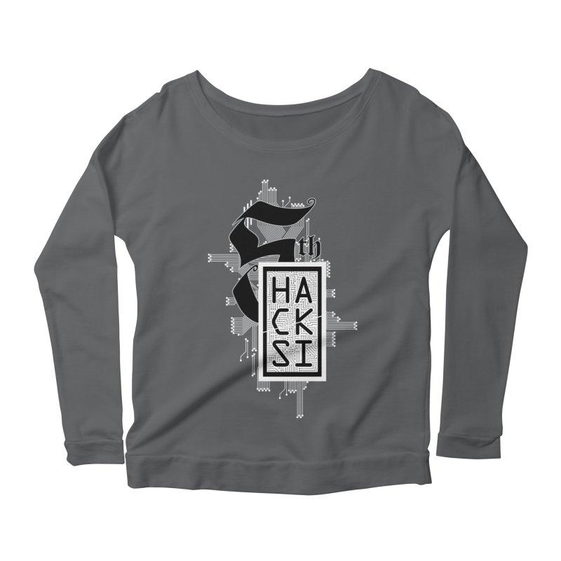 Light 2017 Logo Women's Scoop Neck Longsleeve T-Shirt by The HackSI Shop