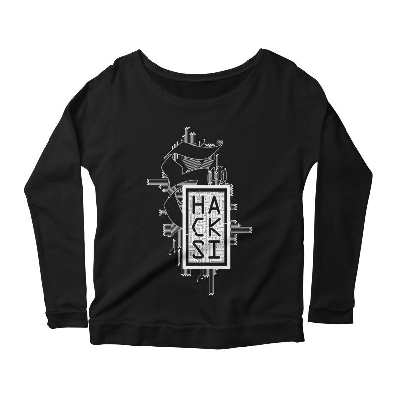 Light 2017 Logo Women's Scoop Neck Longsleeve T-Shirt by The HackSI Shop