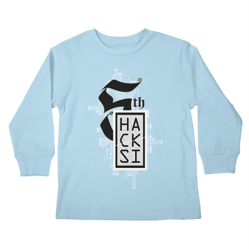 Light 2017 Logo Kids Longsleeve T-Shirt by The HackSI Shop