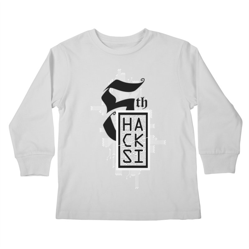 Light 2017 Logo Kids Longsleeve T-Shirt by The HackSI Shop