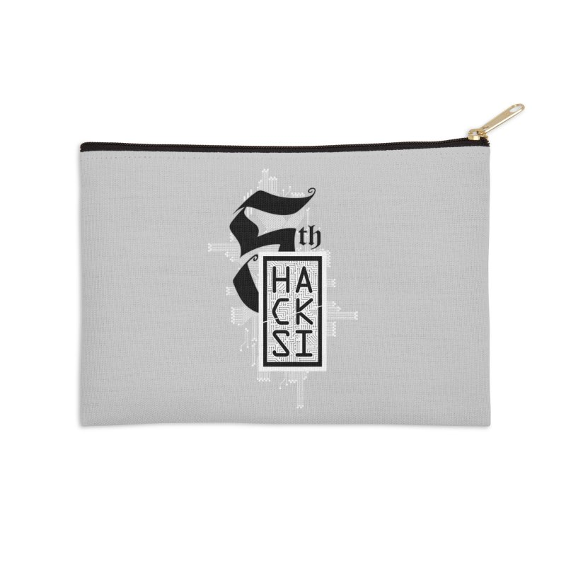 Light 2017 Logo Accessories Zip Pouch by The HackSI Shop