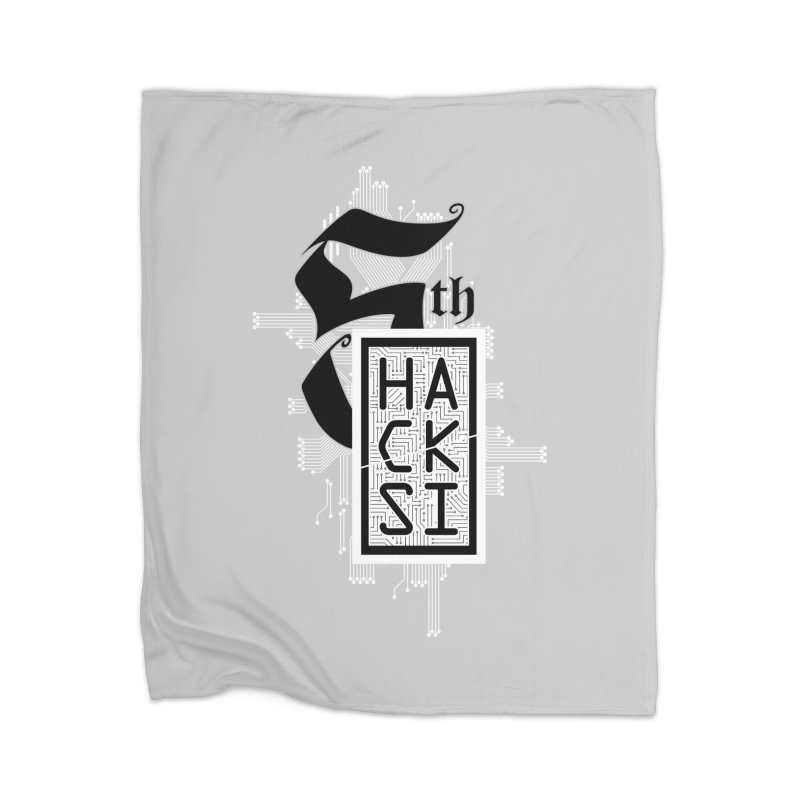 Light 2017 Logo Home Blanket by The HackSI Shop