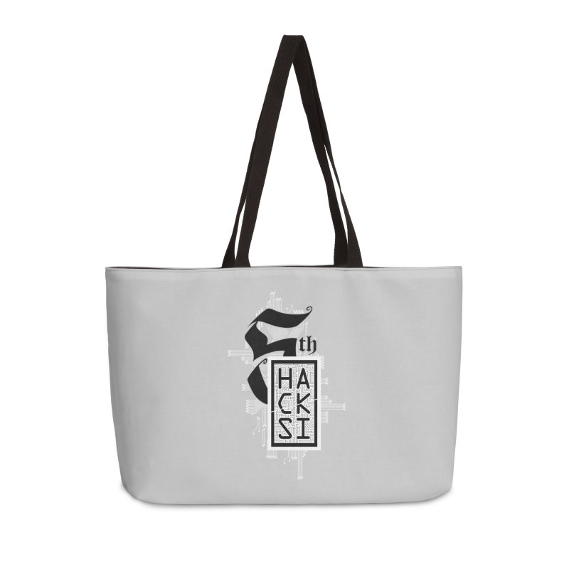 Light 2017 Logo Accessories Weekender Bag Bag by The HackSI Shop