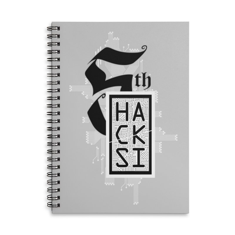 Light 2017 Logo Accessories Lined Spiral Notebook by The HackSI Shop
