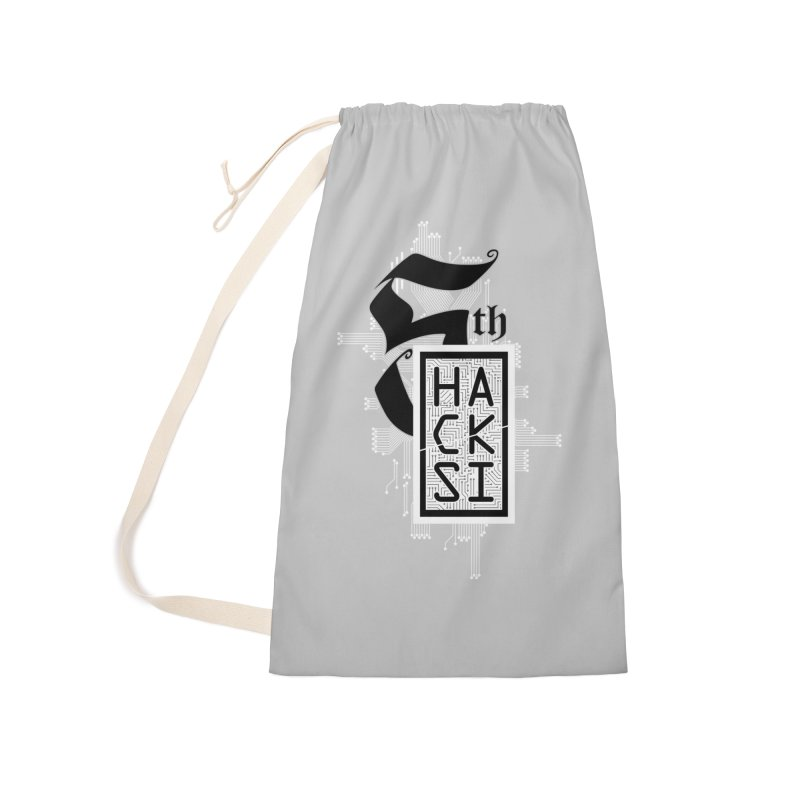 Light 2017 Logo Accessories Laundry Bag Bag by The HackSI Shop