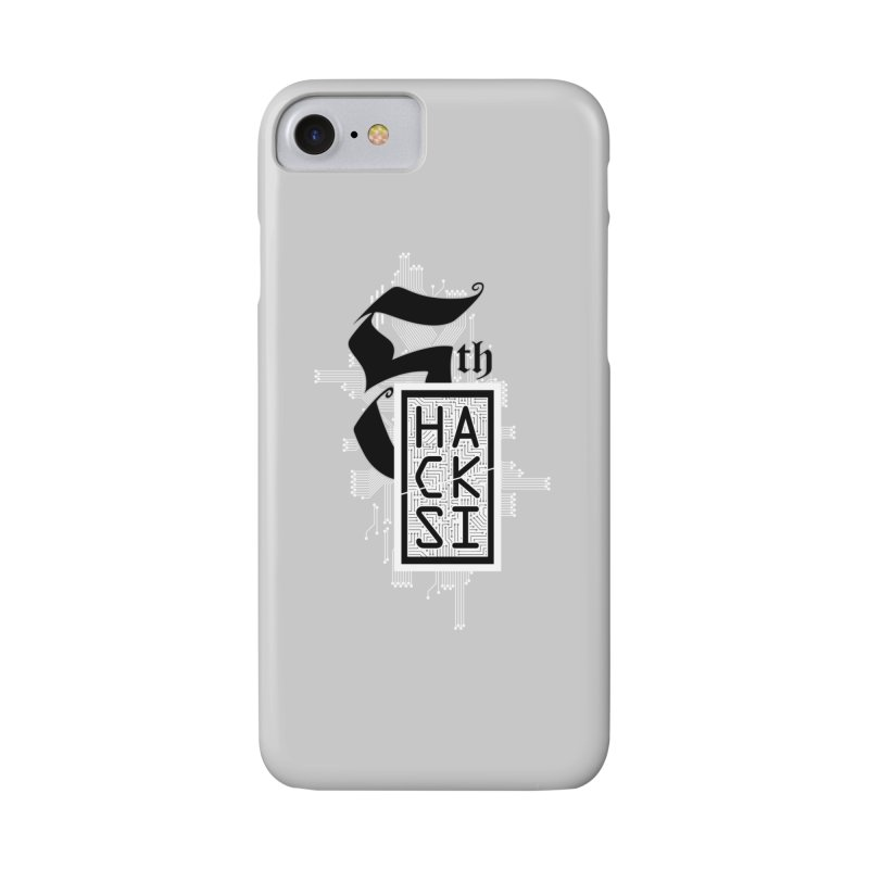 Light 2017 Logo Accessories Phone Case by The HackSI Shop