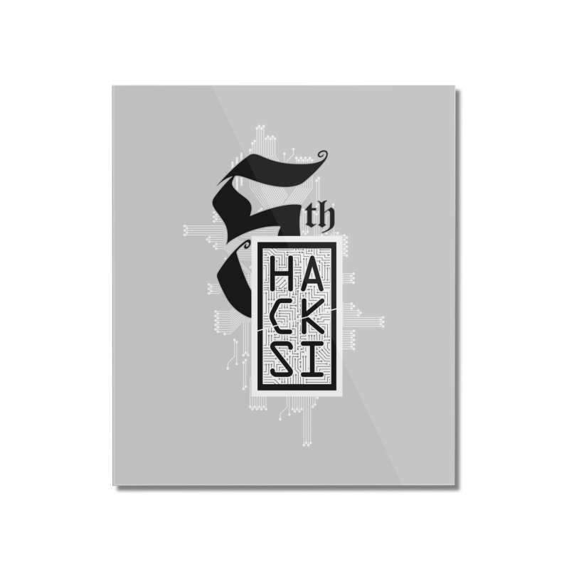 Light 2017 Logo Home Mounted Acrylic Print by The HackSI Shop