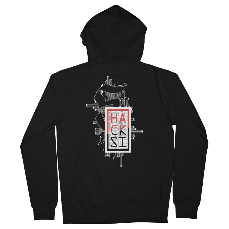 Light Color 2017 Logo Men's Zip-Up Hoody by The HackSI Shop