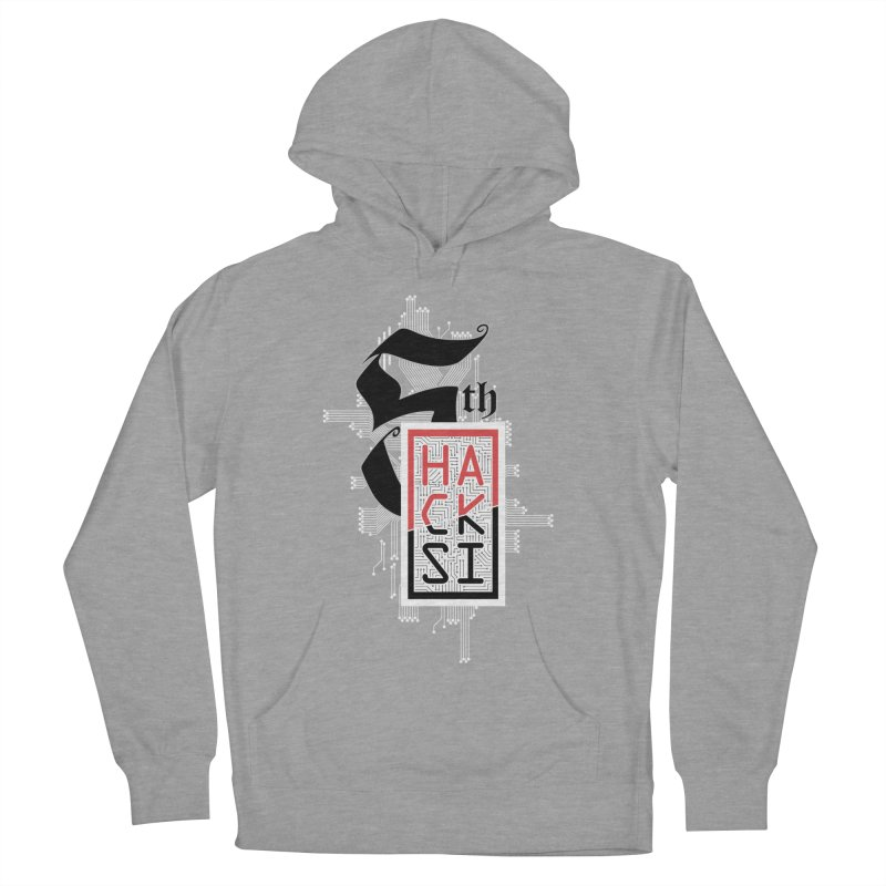 Light Color 2017 Logo Men's French Terry Pullover Hoody by The HackSI Shop