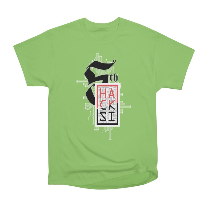 Light Color 2017 Logo Women's Heavyweight Unisex T-Shirt by The HackSI Shop