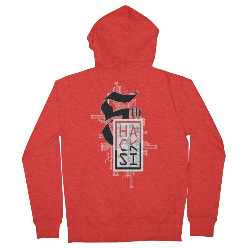 Light Color 2017 Logo Women's Zip-Up Hoody by The HackSI Shop