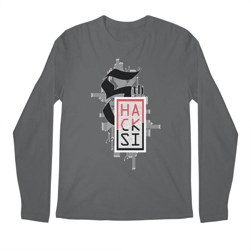 Light Color 2017 Logo Men's Longsleeve T-Shirt by The HackSI Shop