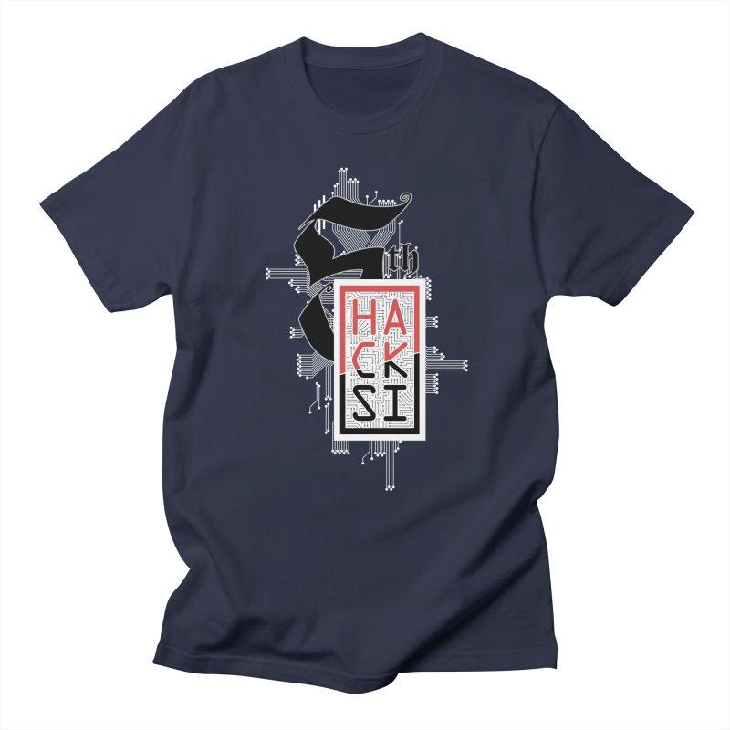 Light Color 2017 Logo Men's Regular T-Shirt by The HackSI Shop