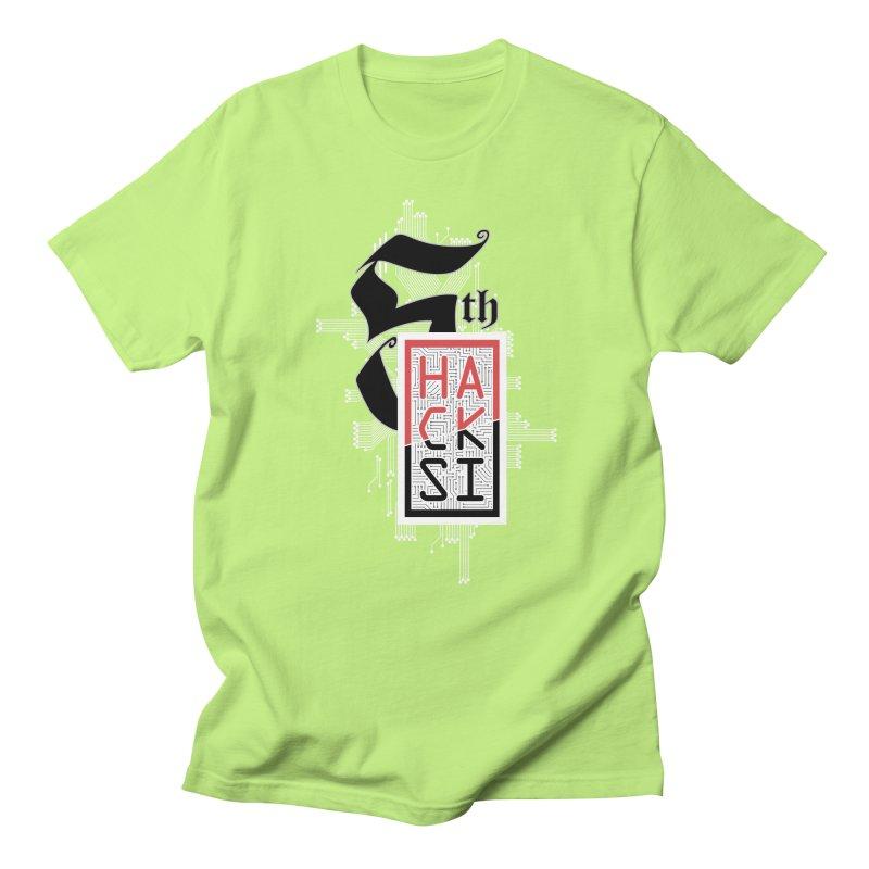 Light Color 2017 Logo Men's T-Shirt by The HackSI Shop