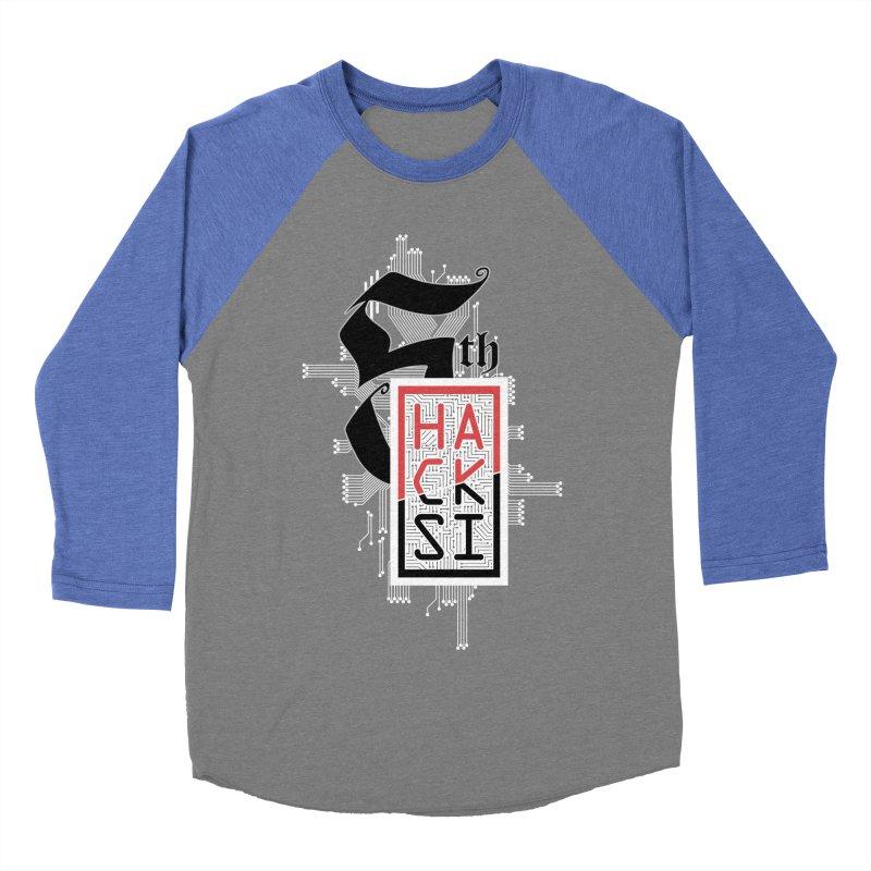 Light Color 2017 Logo Women's Baseball Triblend Longsleeve T-Shirt by The HackSI Shop