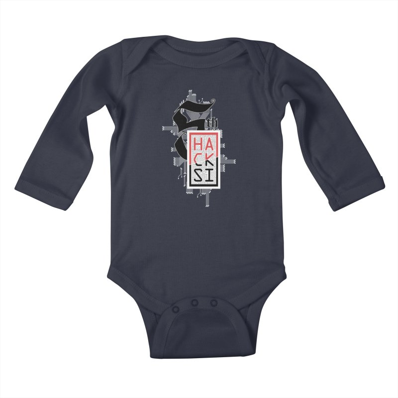 Light Color 2017 Logo Kids Baby Longsleeve Bodysuit by The HackSI Shop