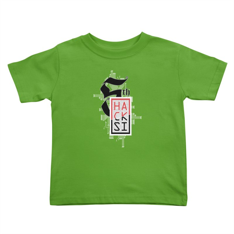 Light Color 2017 Logo Kids Toddler T-Shirt by The HackSI Shop