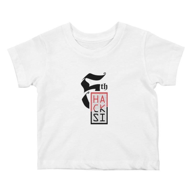 Light Color 2017 Logo Kids Baby T-Shirt by The HackSI Shop