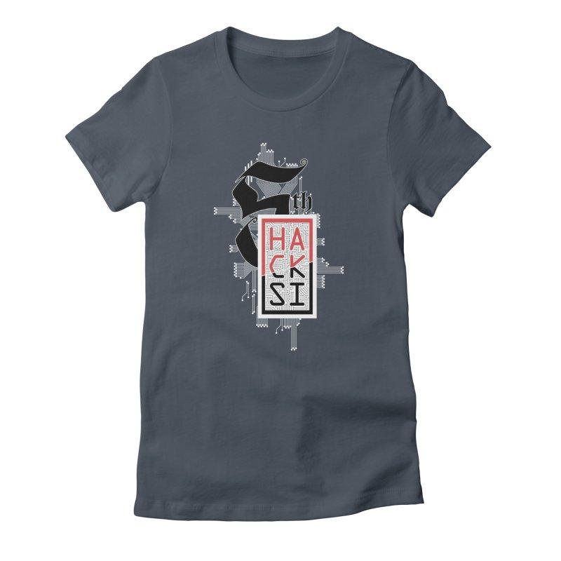Light Color 2017 Logo Women's T-Shirt by The HackSI Shop