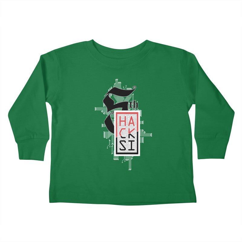 Light Color 2017 Logo Kids Toddler Longsleeve T-Shirt by The HackSI Shop