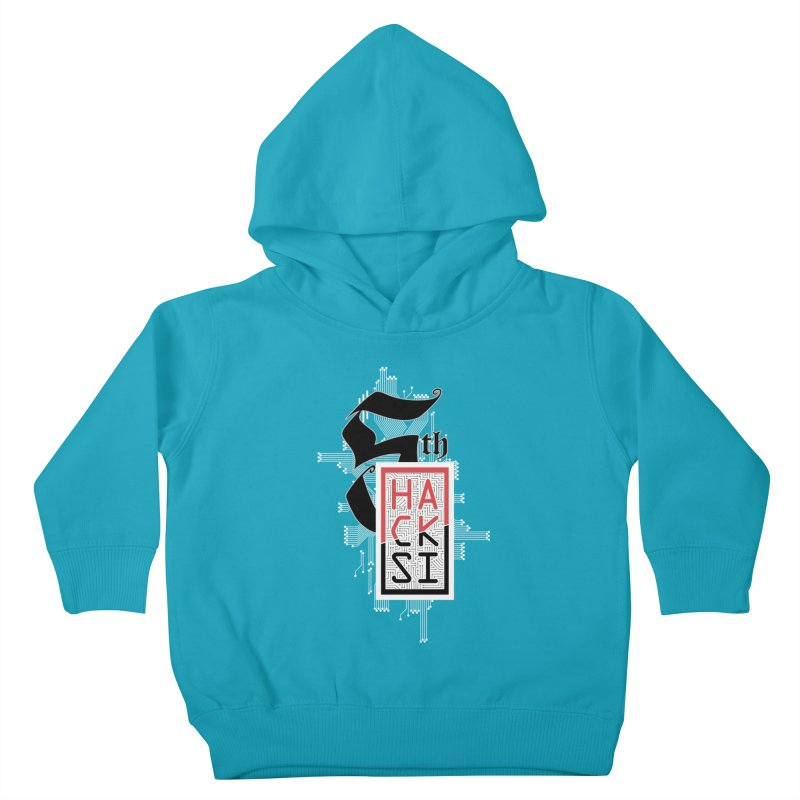 Light Color 2017 Logo Kids Toddler Pullover Hoody by The HackSI Shop