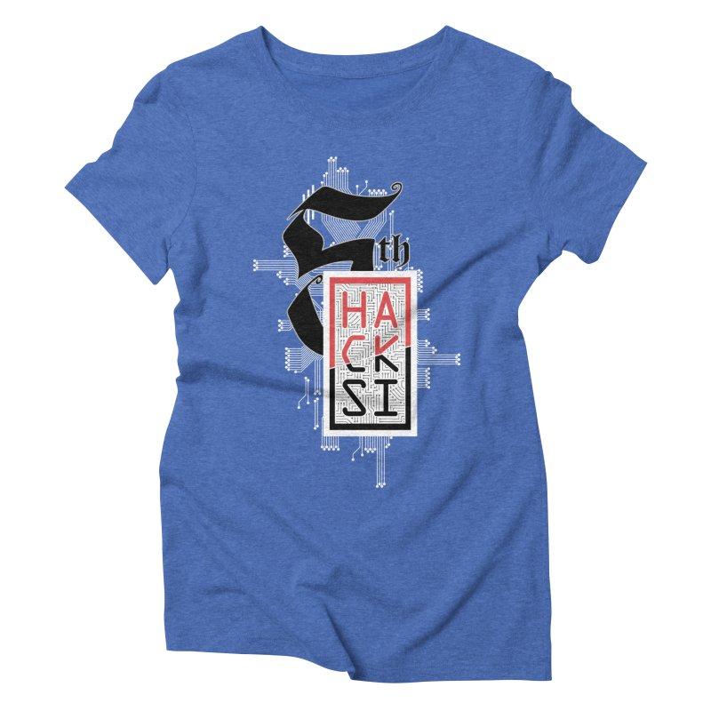 Light Color 2017 Logo Women's Triblend T-Shirt by The HackSI Shop