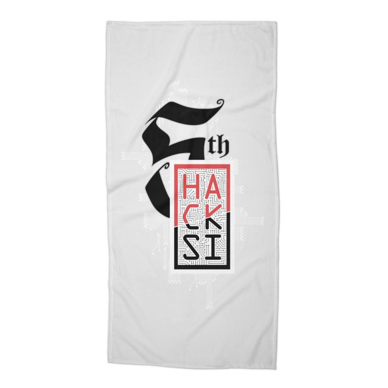 Light Color 2017 Logo Accessories Beach Towel by The HackSI Shop