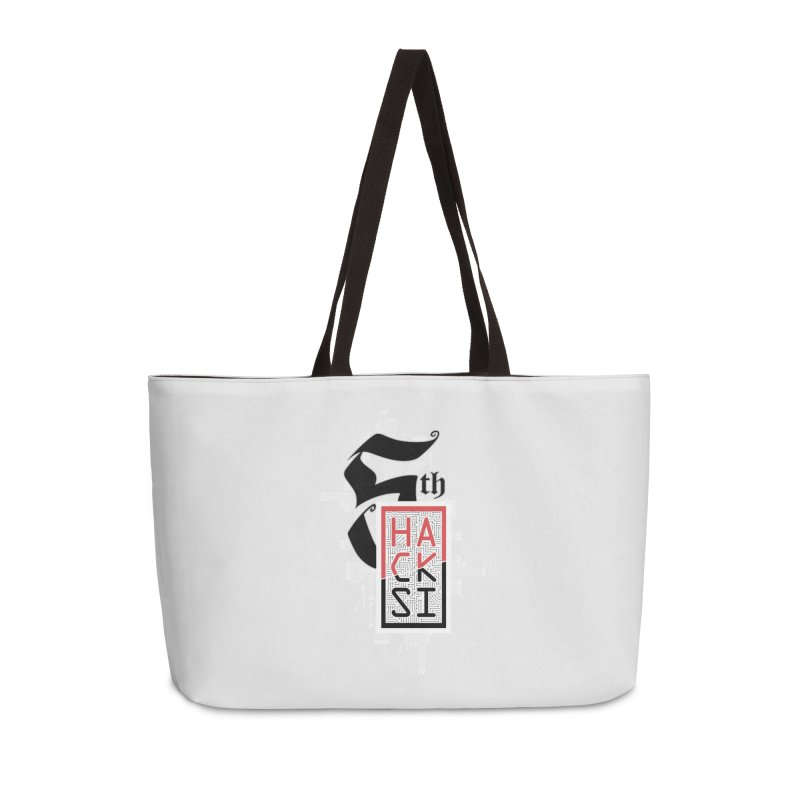Light Color 2017 Logo Accessories Weekender Bag Bag by The HackSI Shop