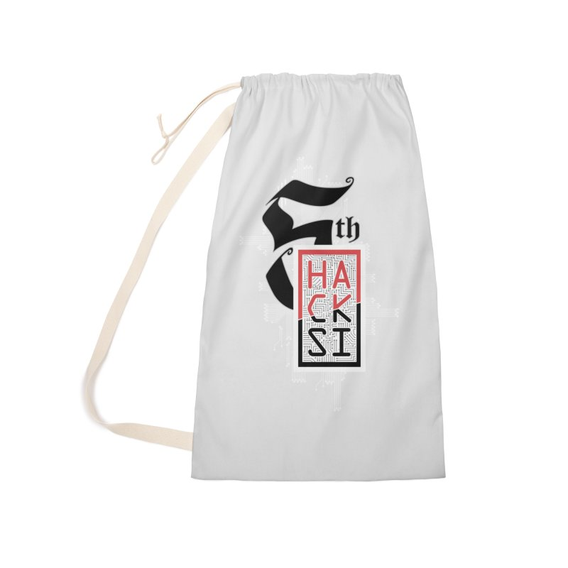 Light Color 2017 Logo Accessories Laundry Bag Bag by The HackSI Shop