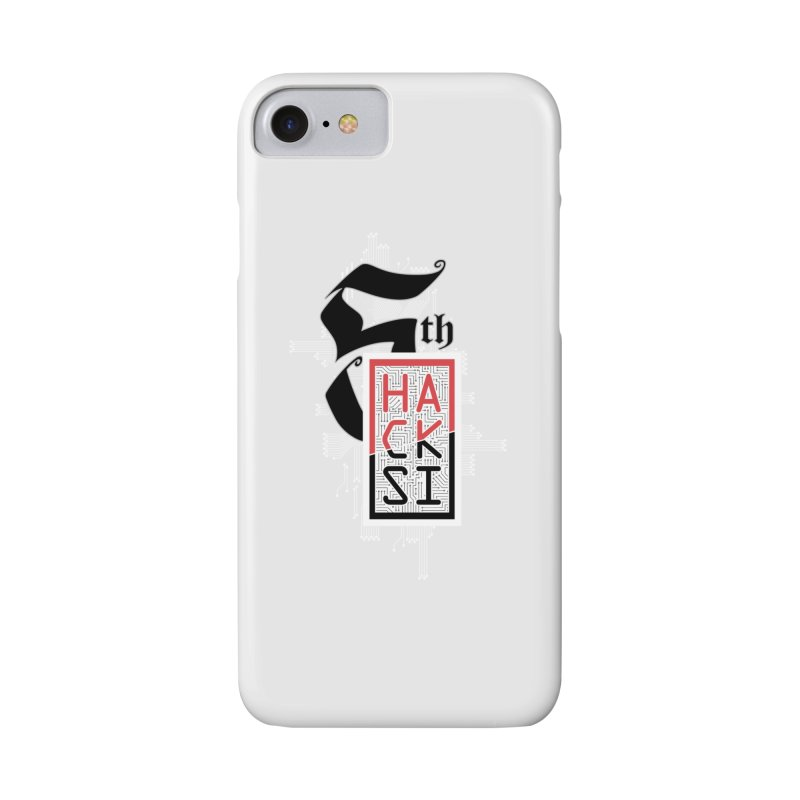 Light Color 2017 Logo Accessories Phone Case by The HackSI Shop