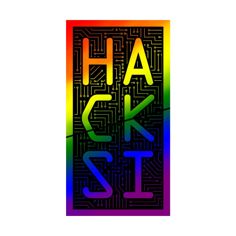 HackSI Pride Accessories Phone Case by The HackSI Shop
