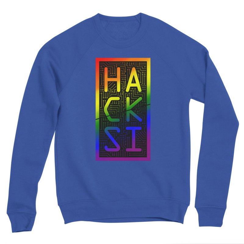 HackSI Pride Men's Sweatshirt by The HackSI Shop