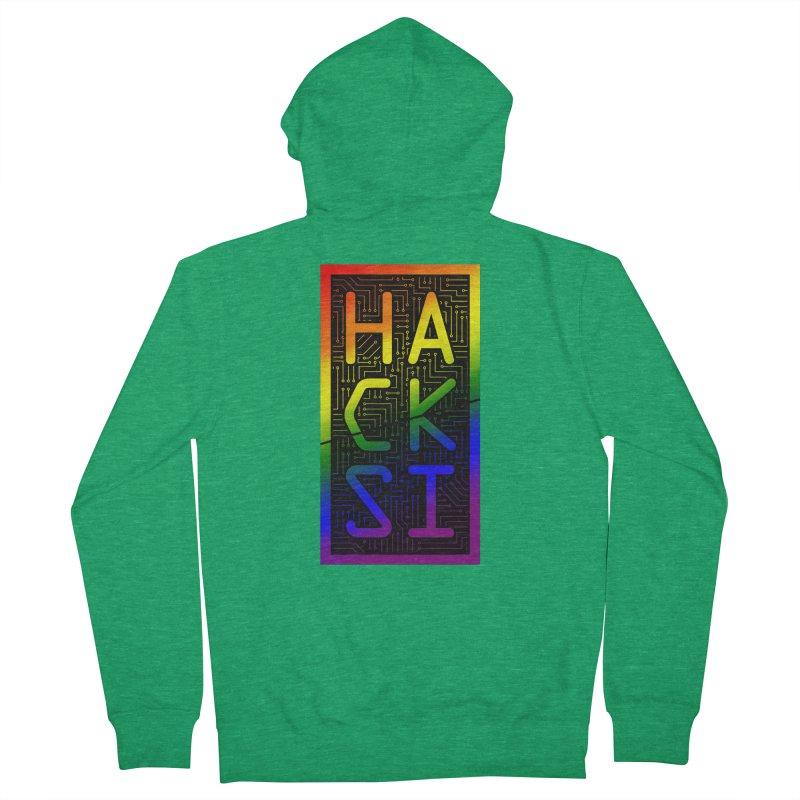 HackSI Pride Women's Zip-Up Hoody by The HackSI Shop