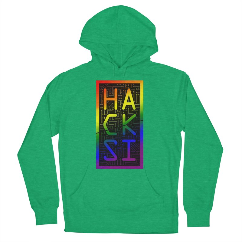 HackSI Pride Men's French Terry Pullover Hoody by The HackSI Shop