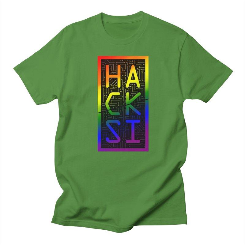 HackSI Pride Men's T-Shirt by The HackSI Shop