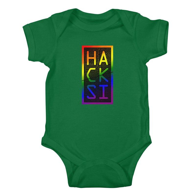 HackSI Pride Kids Baby Bodysuit by The HackSI Shop