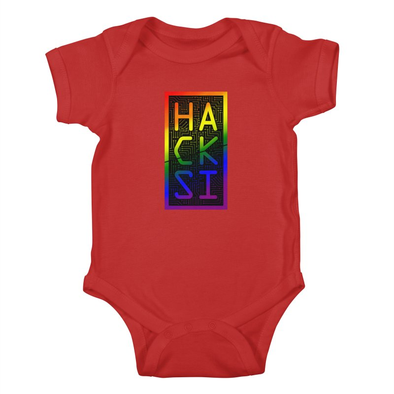 HackSI Pride Kids Baby Bodysuit by The HackSI Shop