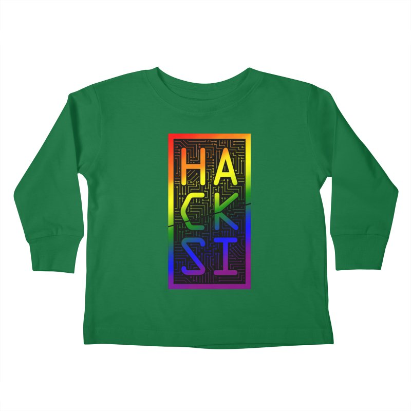 HackSI Pride Kids Toddler Longsleeve T-Shirt by The HackSI Shop