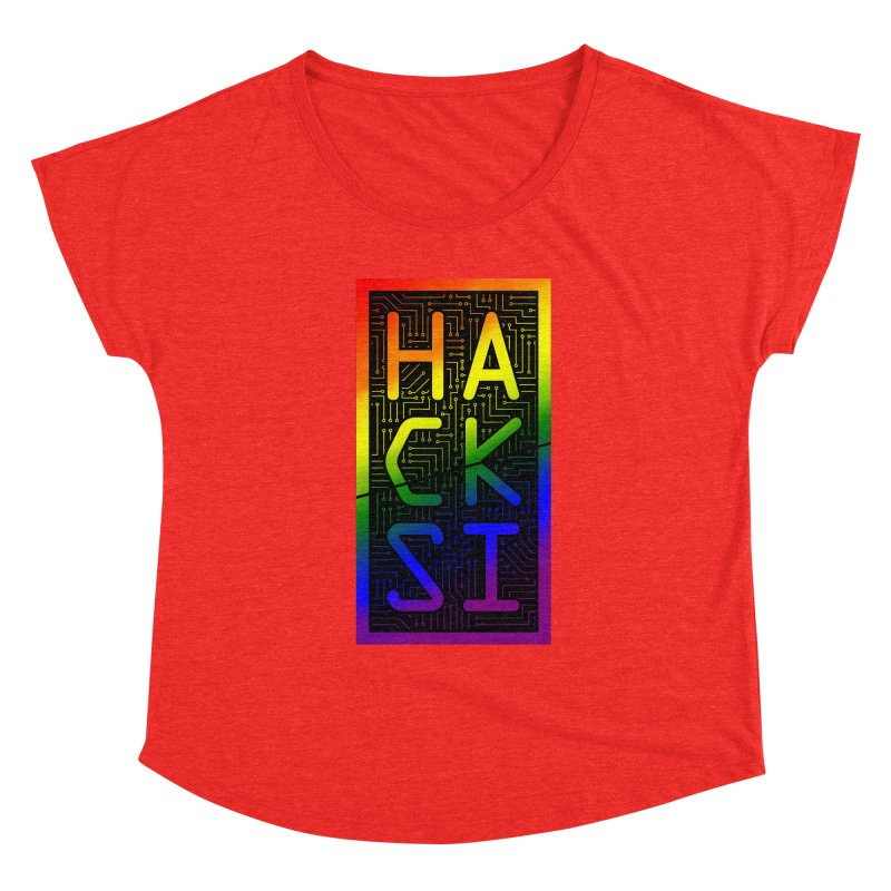 HackSI Pride Women's Scoop Neck by The HackSI Shop