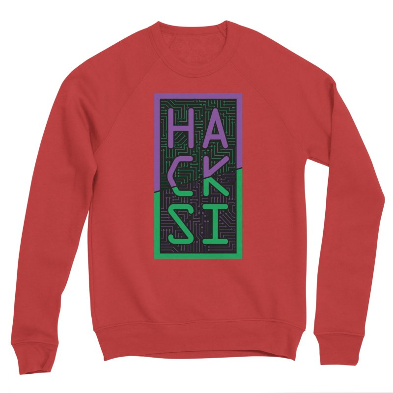 HackSI 2018 Logo Men's Sponge Fleece Sweatshirt by The HackSI Shop