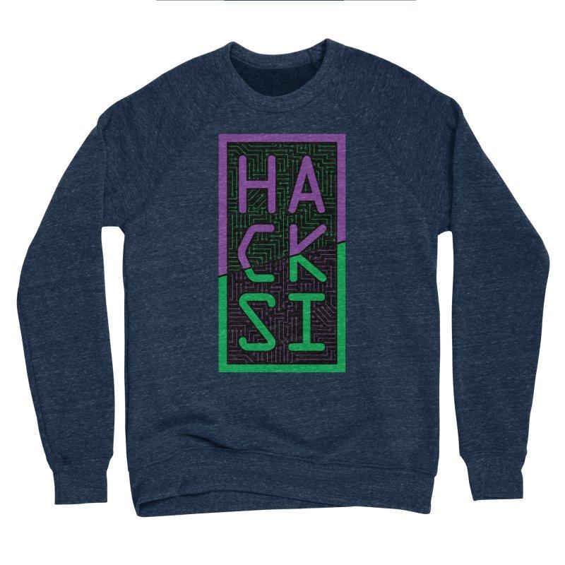 HackSI 2018 Logo Men's Sponge Fleece Sweatshirt by The HackSI Shop