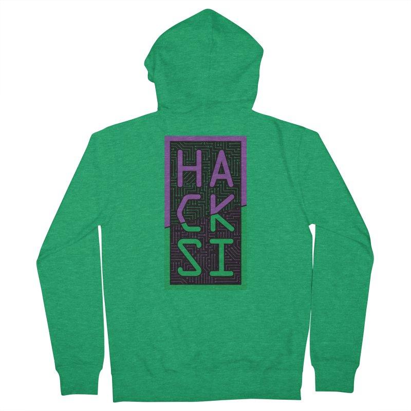HackSI 2018 Logo Women's Zip-Up Hoody by The HackSI Shop