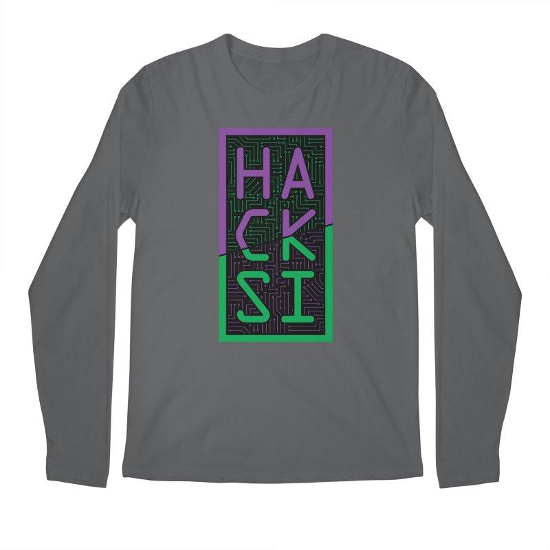 HackSI 2018 Logo Men's Longsleeve T-Shirt by The HackSI Shop