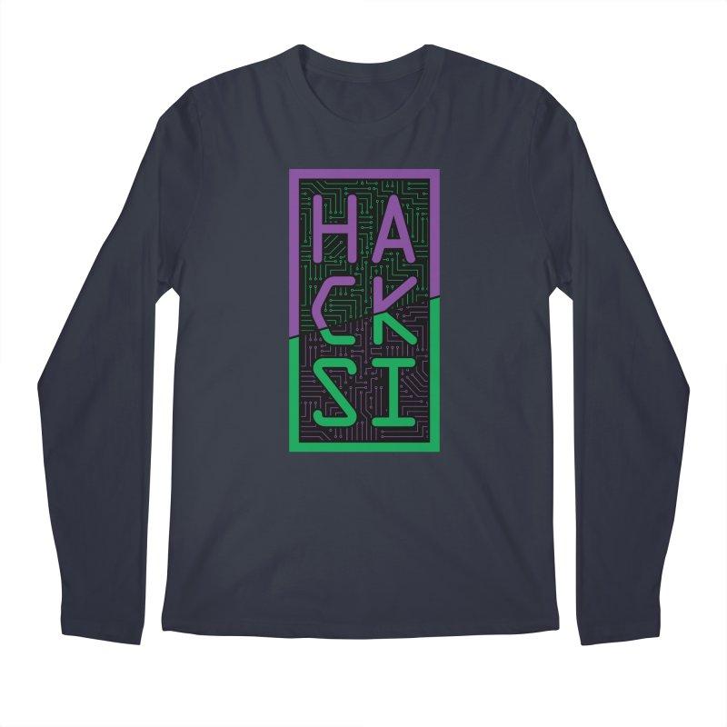 HackSI 2018 Logo Men's Regular Longsleeve T-Shirt by The HackSI Shop