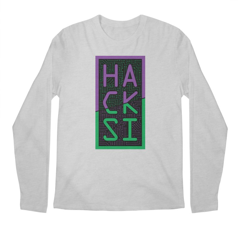 HackSI 2018 Logo Men's Regular Longsleeve T-Shirt by The HackSI Shop