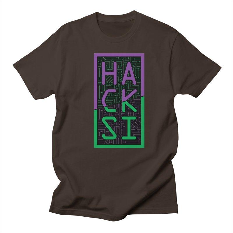 HackSI 2018 Logo Men's Regular T-Shirt by The HackSI Shop