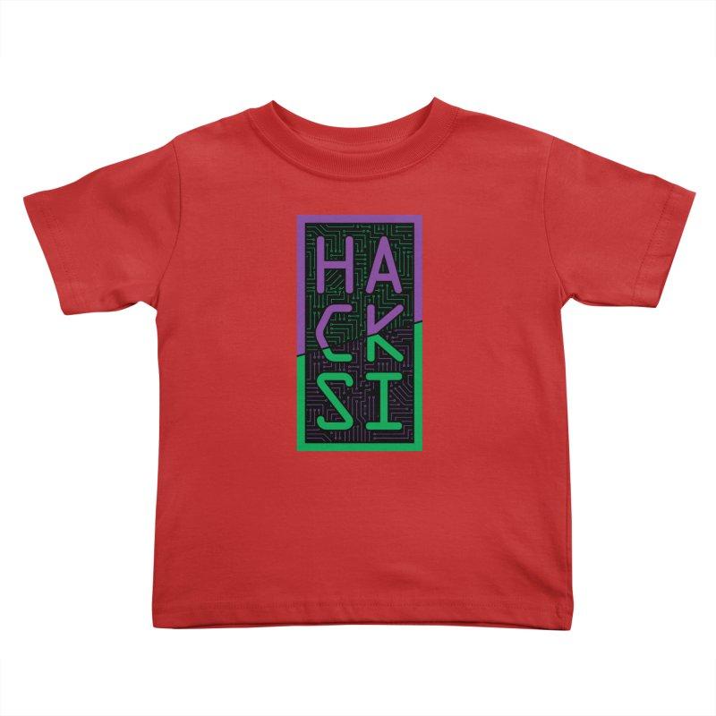 HackSI 2018 Logo Kids Toddler T-Shirt by The HackSI Shop